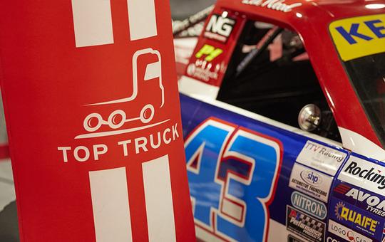 Top Truck Banner